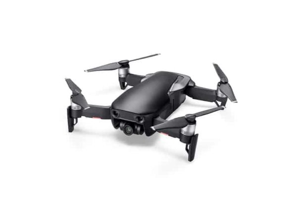 Mavic Air Black, side front view