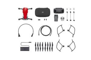 Mavic-Air Fly More Combo Flame Red