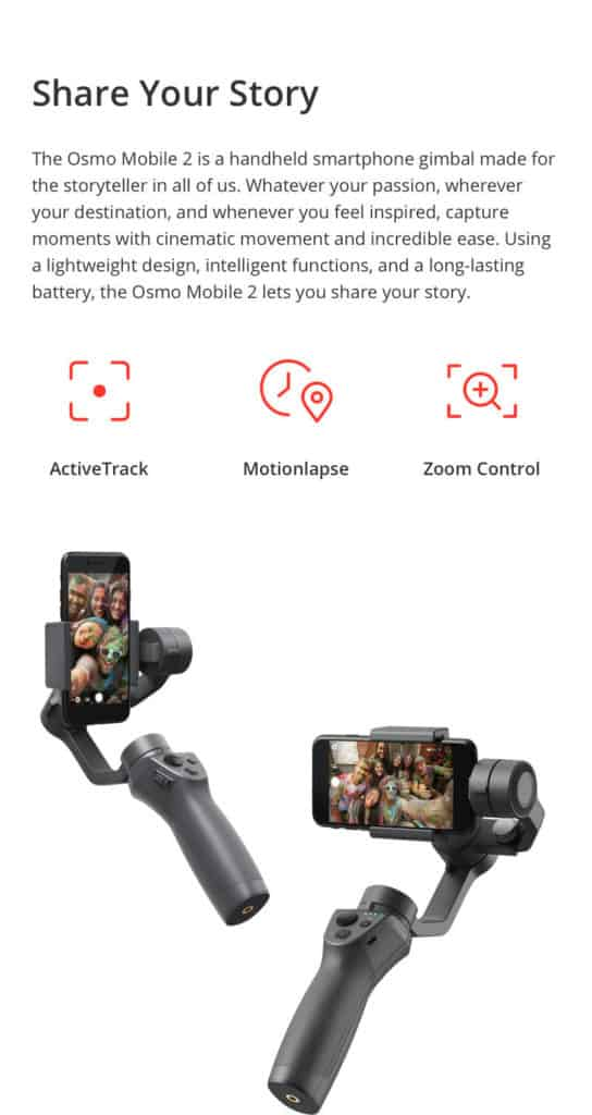 Osmo Moble 2