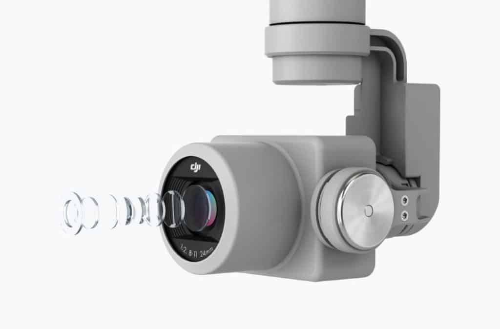 Phantom 4 Pro v2.0 camera