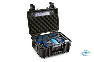 B&W - Flightcase DJI Spark - dronedepot.be