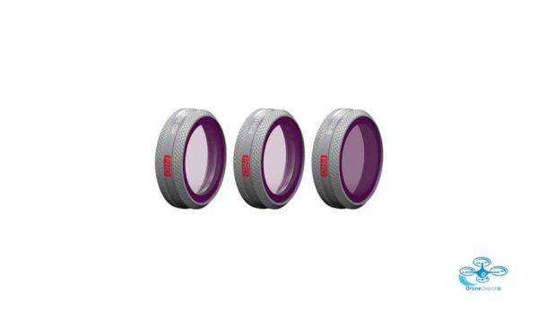 PGYTECH - DJI Mavic 2 Zoom Gradient ND Filterset (ND8-GR, ND16-4, ND32-8) - dronedepot.be