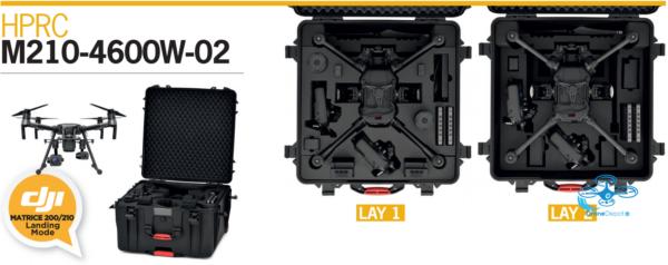 HPRC Flightcase voor DJI Matrice 200/210 - dronedepot.be