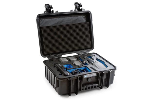 B&W Flightcase voor DJI Mavic 2 met Smart Controller-01 - www.dronedepot.be