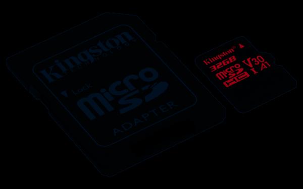 Kingston SDCR 32GB Canvas React