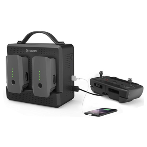 Smatree - SP180 Mobiele Batterijlader voor DJI Mavic Pro batterijen