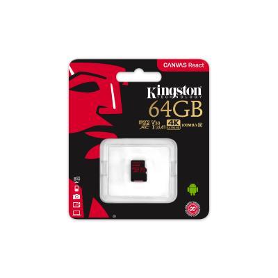 Kingston SDCR/64GBSP Canvas React - www.dronedepot.be