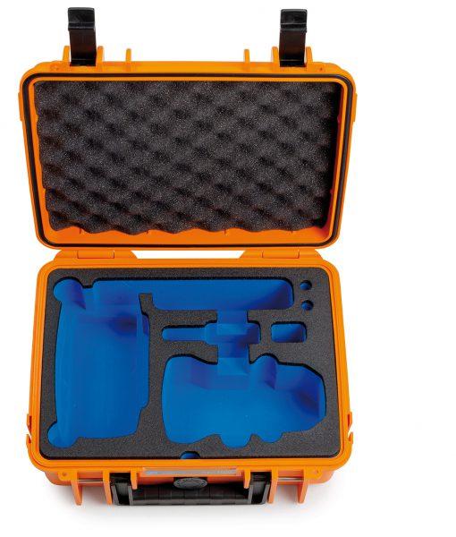 B&W Flightcase Type 1000 DJI Mavic Mini Orange