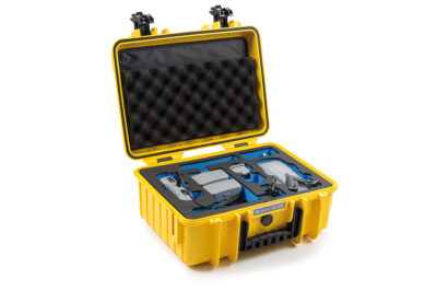 B&W Flightcase type 4000 DJI Mavic Air 2 met Smart Controller - Geel