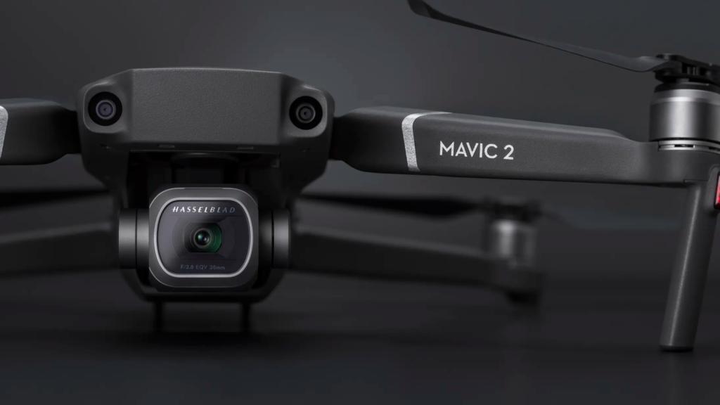 DJI Mavic 2 Pro Camera view