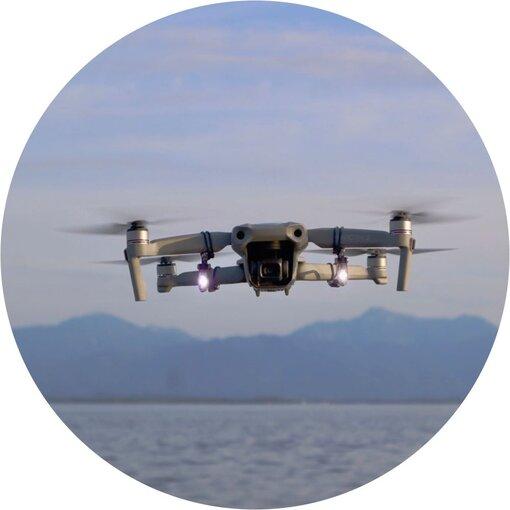 Roboterwerk - SELFIE Mavic Air 2 Dual LED 110 lumen